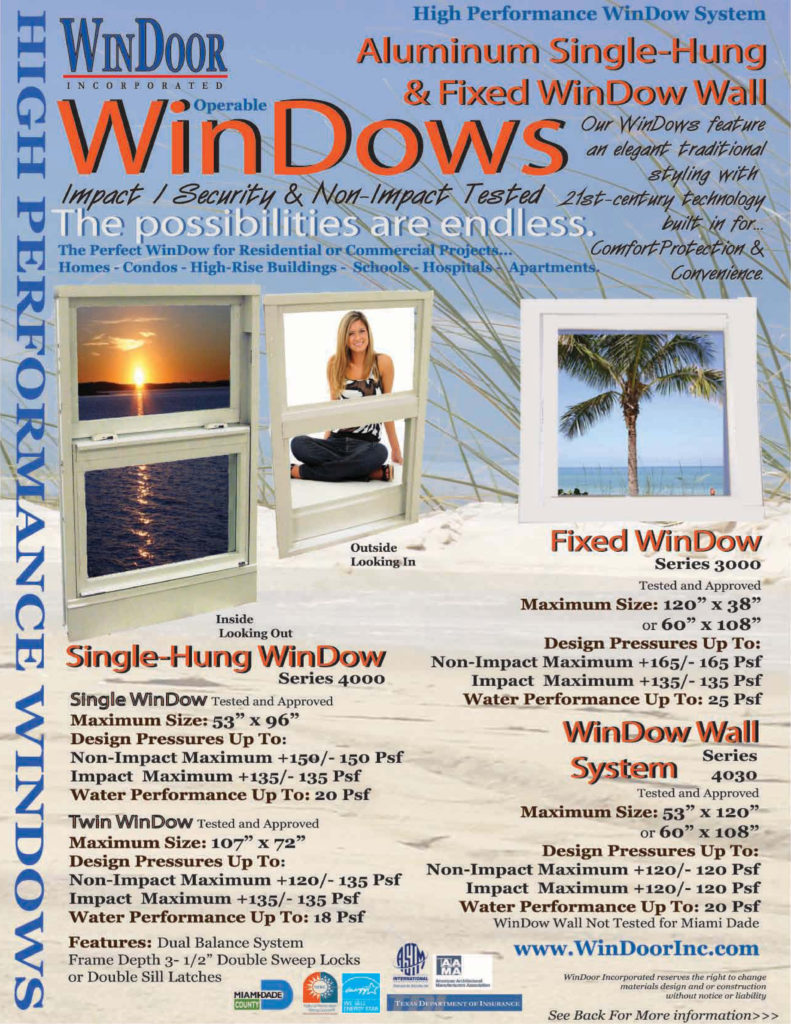 4000 Series WinDow WinDoor Inc Front