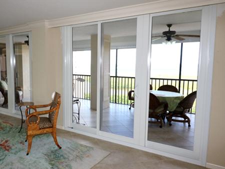 8100 narrow style interlock series aluminum sliding glass