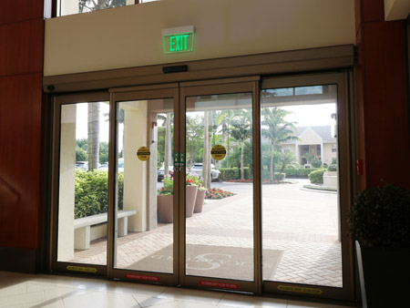 Automatic sliding doors portalp automatic sliding glass for Motorized sliding glass door